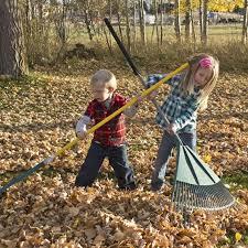 2019-09-30-Kids-Raking-Leaves